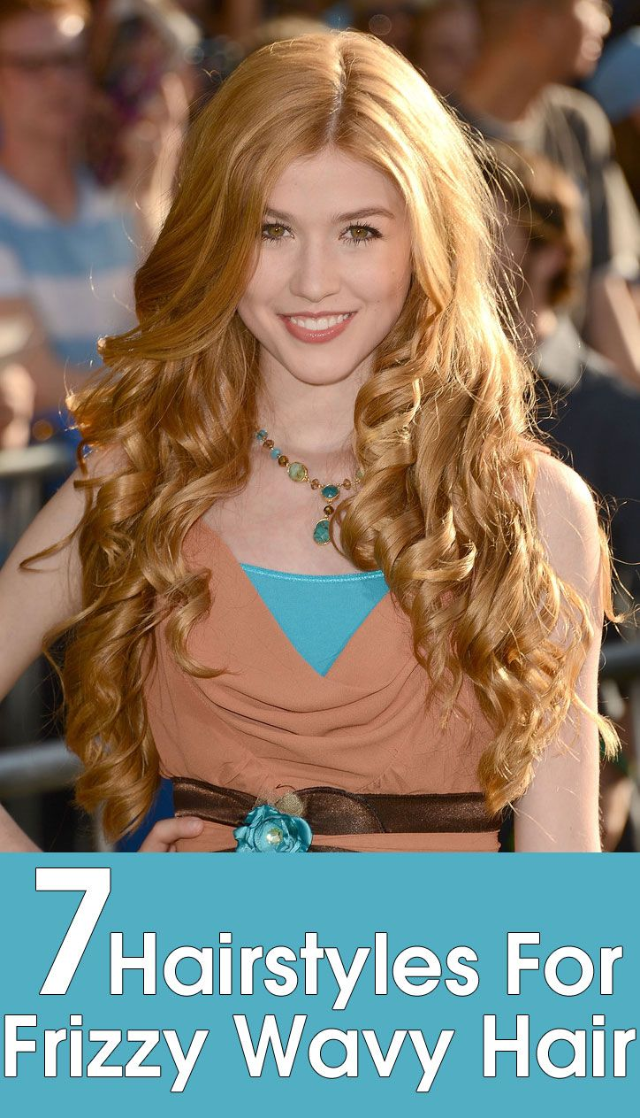 Astounding 1000 Ideas About Frizzy Wavy Hair On Pinterest Wavy Hair Tips Hairstyles For Women Draintrainus
