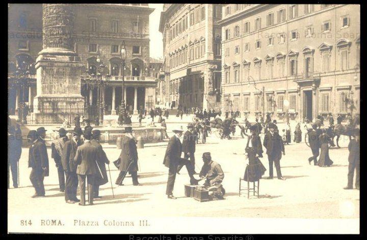 Roma Sparita - Piazza Colonna