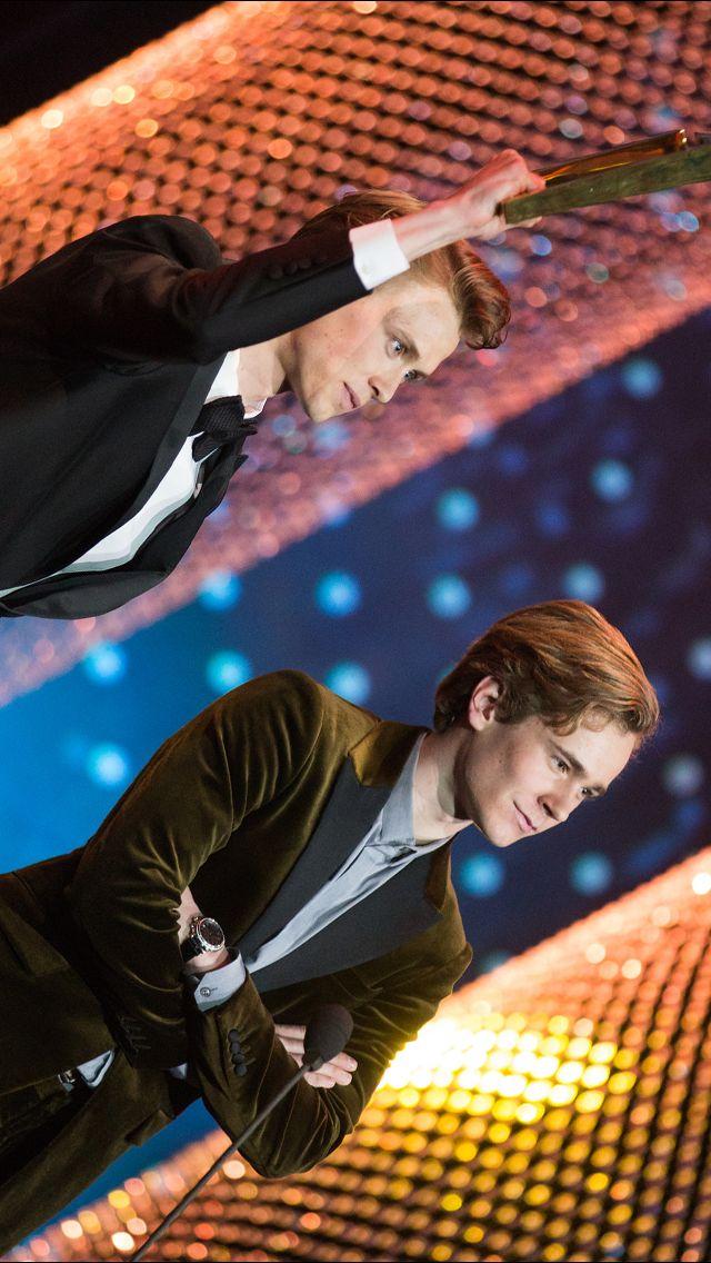 Henrik og Tarjei vinner publikumsprisen | Gullruten 2017