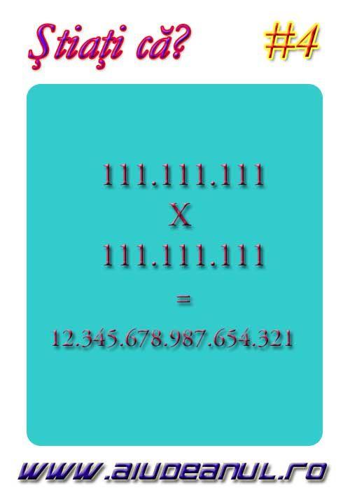 Calcul interesant 111.111.111 X 111.111.111