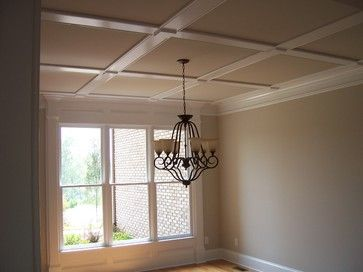10 best images about faux coffered ceiling ideas on for Design ideas for low ceilings