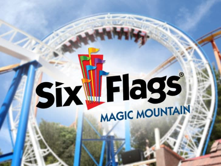 Tmz Six Flags Caught In The Middle Of Raging Wildfire In Socal Guests Who Went To Six Flags In Southern California On Sunday Six Flags Hurricane Harbor Flag