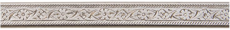 Mini Floral Nickel Silver Pattern Wire - 3 ft