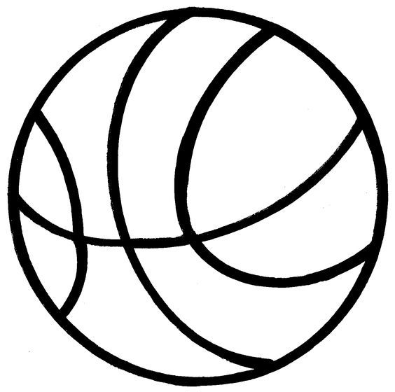 Basketball Clipart Black And White Poem On Basketball Clipart Clipart Black And White Clip Art