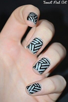 Love These V Ball Nails