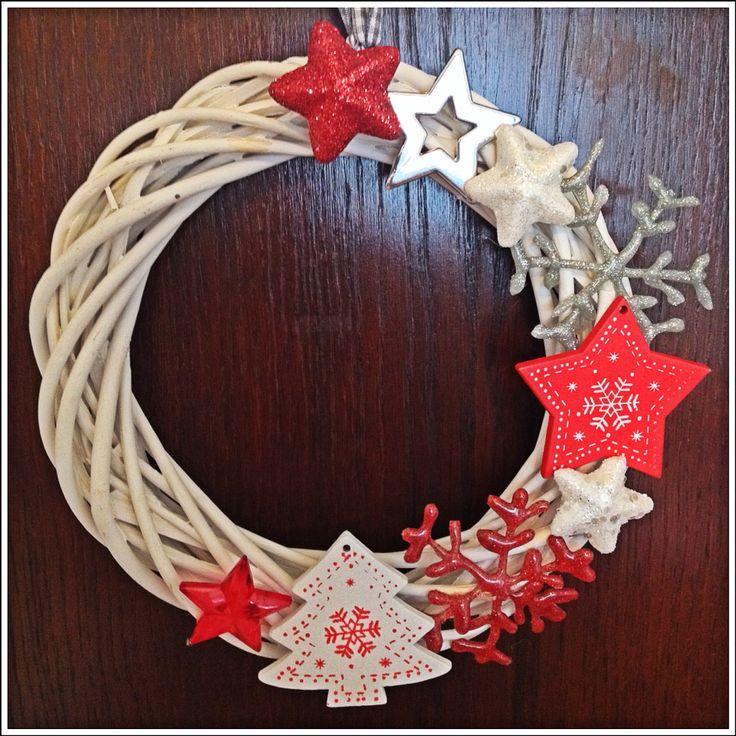 Vánoční věnec na dveře :)