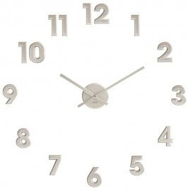 DIY Silver Numbers Wall Clock - Available in black - £23.95