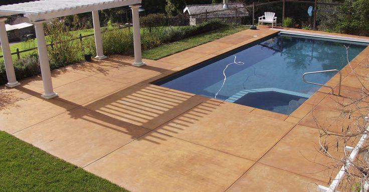 Likable Pool Decks Stylish Natural Stone Coating For Pool