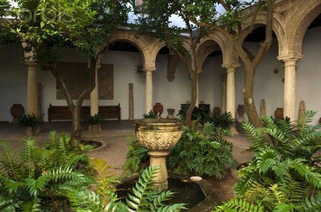 Spain, Andalusia, Cordoba, historical center listed as World Heritage by UNESCO, Palacio de Viana, patio