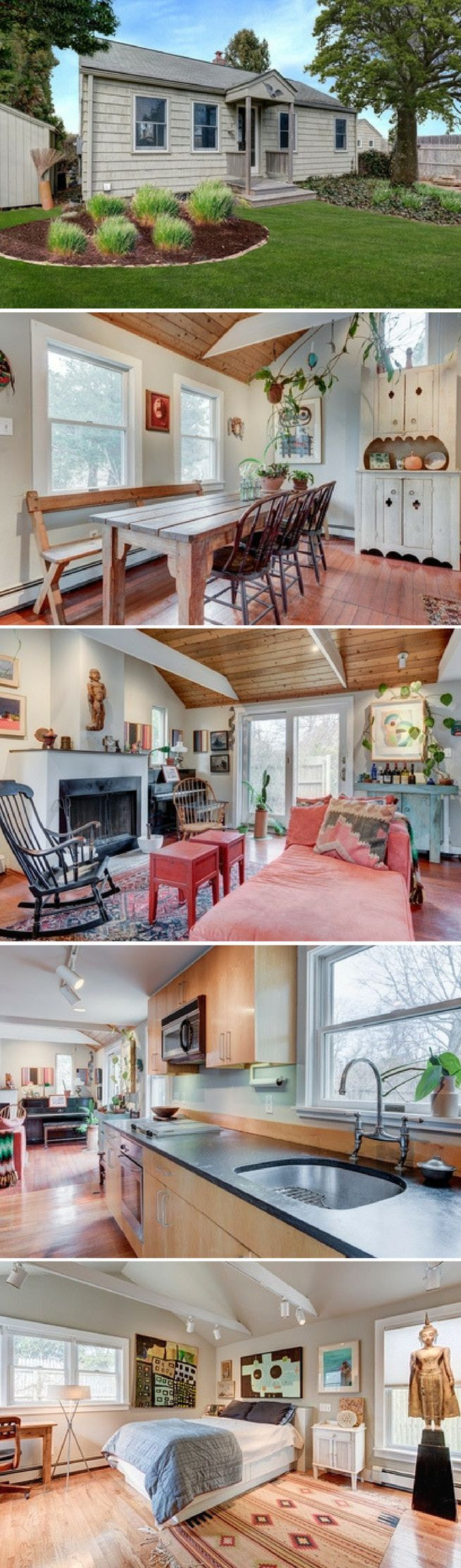 An East Hampton cottage (1,000 sq ft)