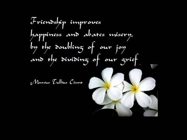 Famous Quotes About True Friendship  Famous Quotes About Friendship