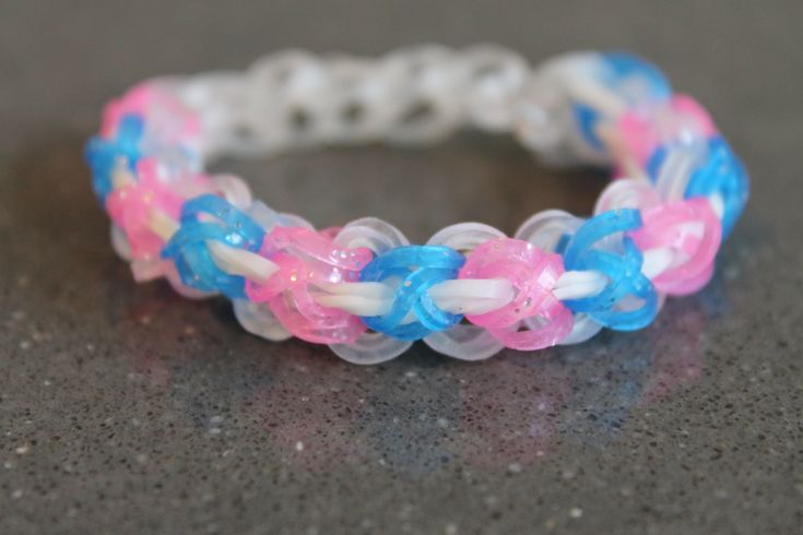 Rainbow Loom Nederlands, Laced-up Armband