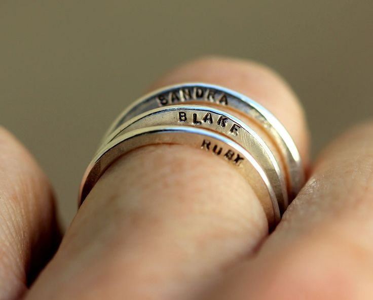 Family name rings