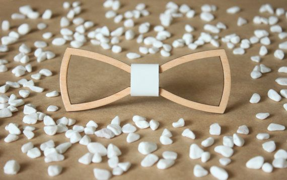 Classic Wooden Bow Tie for Men Boys and Women with от BuffBowTie