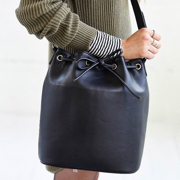 """Selling this """"Urban Outfitters Bucket Bag"""" in my Poshmark closet! My username is: maceyjc. #shopmycloset #poshmark #fashion #shopping #style #forsale #Urban Outfitters #Handbags"""