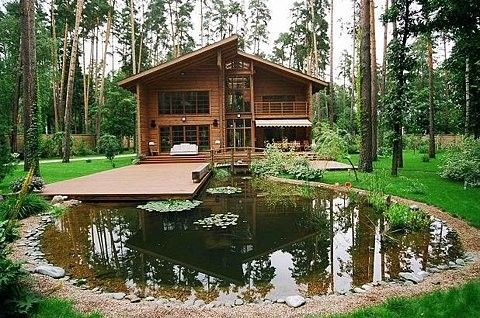 Natural Swimming Pond, I will have you some day.