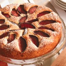 Plum Cake from Chelsea Sugar - one of our fav cakes!