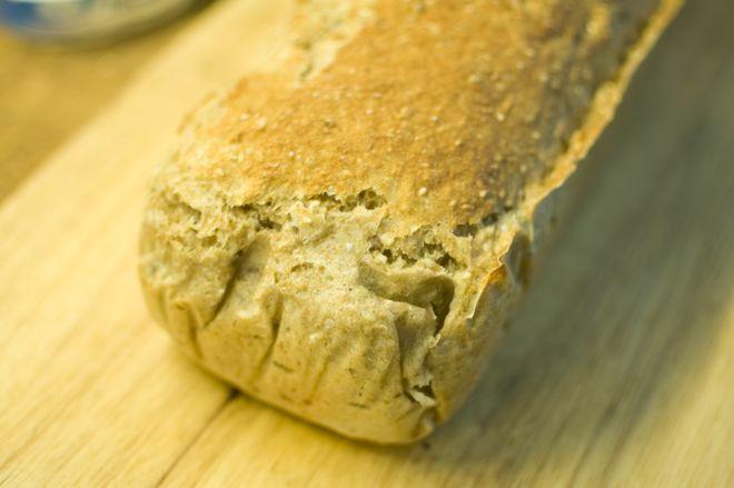 speltbrød med havregryn og frø
