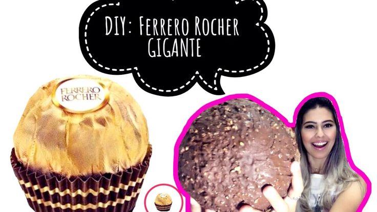 Fiz Ferrero Rocher Gigante e olha o que aconteceu!! #Versatilizando