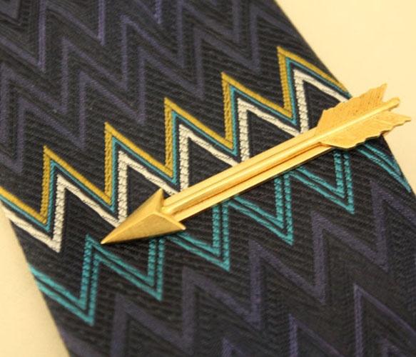 Arrow Tie BarTies Bar, Men Clothing, Bows Ties, S'More Bar, S'Mores Bar, Ties Clips, Arrows Ties, Gold Arrows, Adornment Men