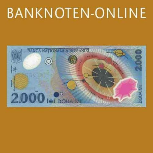 Rumänien 2.000 Lei 1999 P.111a Polymer - Sonnenfinsternis in Münzen, Papiergeld Welt, Europa | eBay