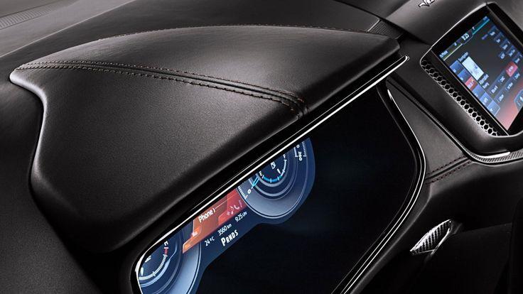 2014 ford s max vignale concept dashboard 2014 Ford S MAX Vignale Concept Premium Design