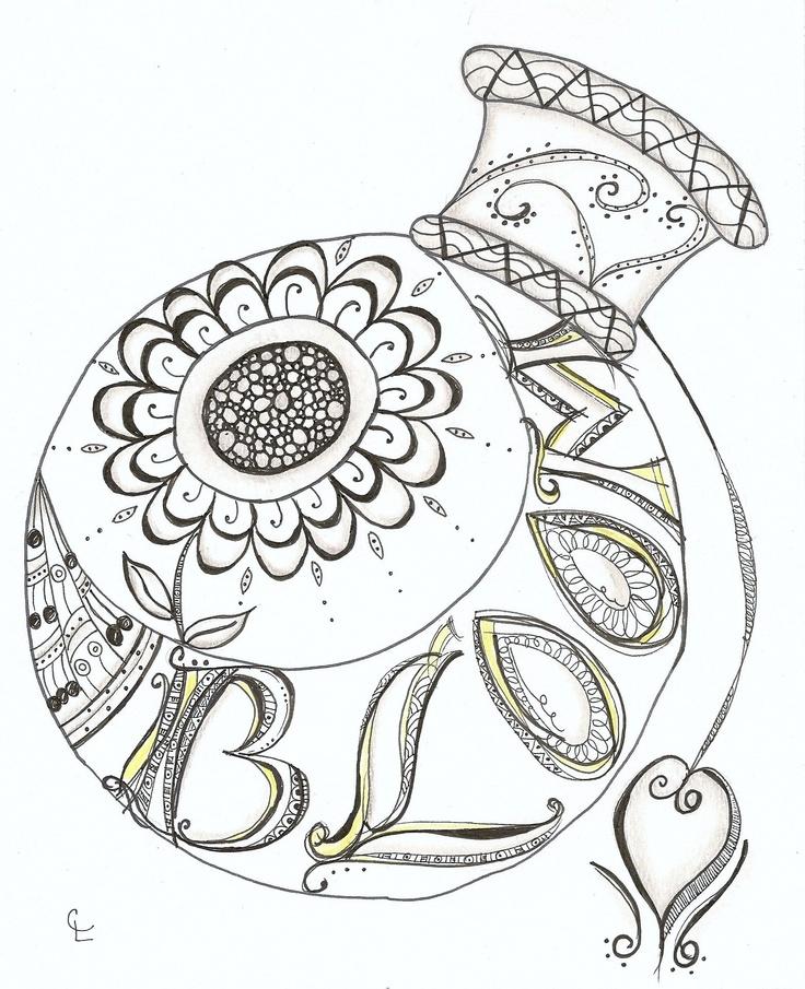 Lettering Inspired By Joanne Finks Book Zenspirations Drawn Carol Schockling Lawecki