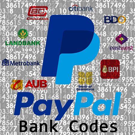 Paypal Bank Codes Philippines 2017 Technobound