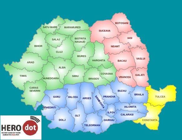 Departaments Romania