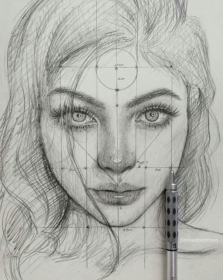 как рисовать портреты научиться по фотографиям секрет собственной личности