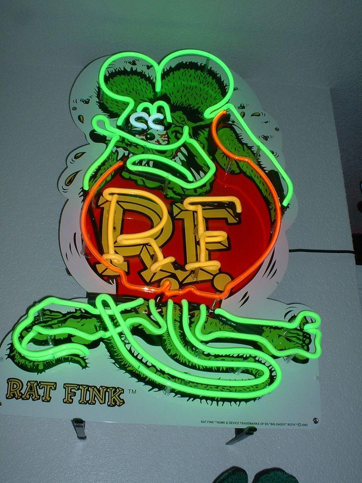 Rat Fink Rocks! I love my Fink tat and all of my Fink stuff <3