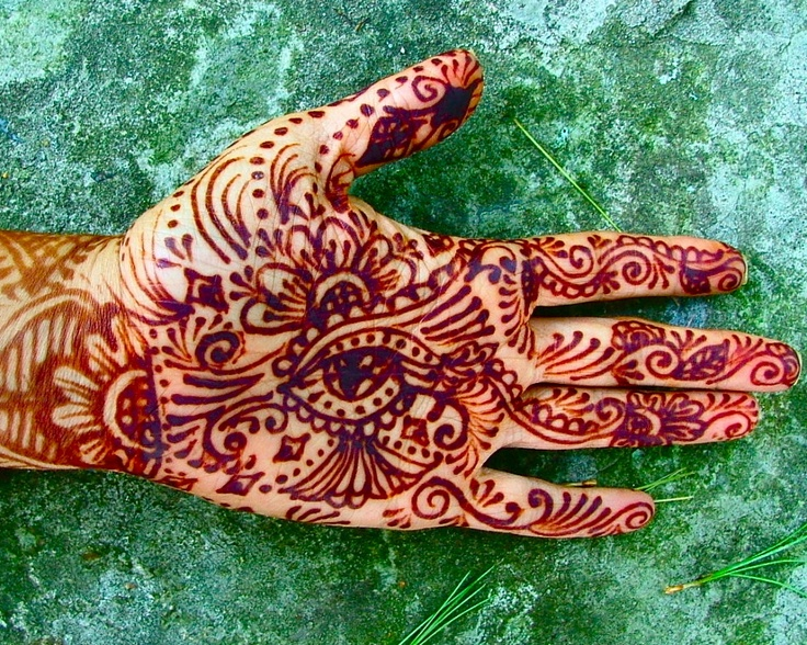 Mehndi Hand With Eye : Best the eye of henna images hennas and