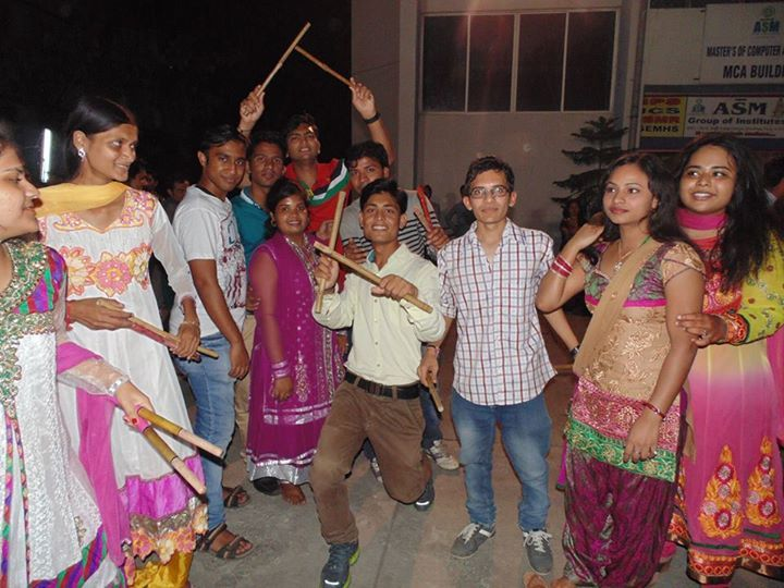 #Dandiya Celebration at #ASM