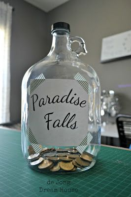 Paradise Falls from the movie UP; for new car seat?