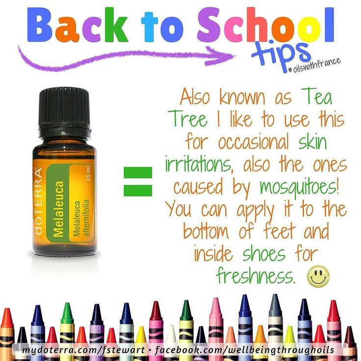 Another #backtoschool #tip  This oil is sourced here in #Australia  You might know it as Tea Tree. It's another one of those very versatile oils (aren't they all? really?) #doterra #oilswithfrance #essentialoils #backtoschool #nojunk  #naturalsolutions #momlife #school #shoes #mosquitoes #melaleuca #teatree  bit.ly/contactoilswithfrance