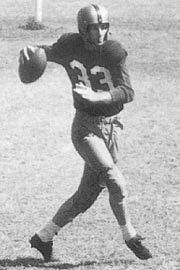 Redskins #33 Sammy Baugh  Quarterback....always been my favorite number cuz of you....miss you buddy!