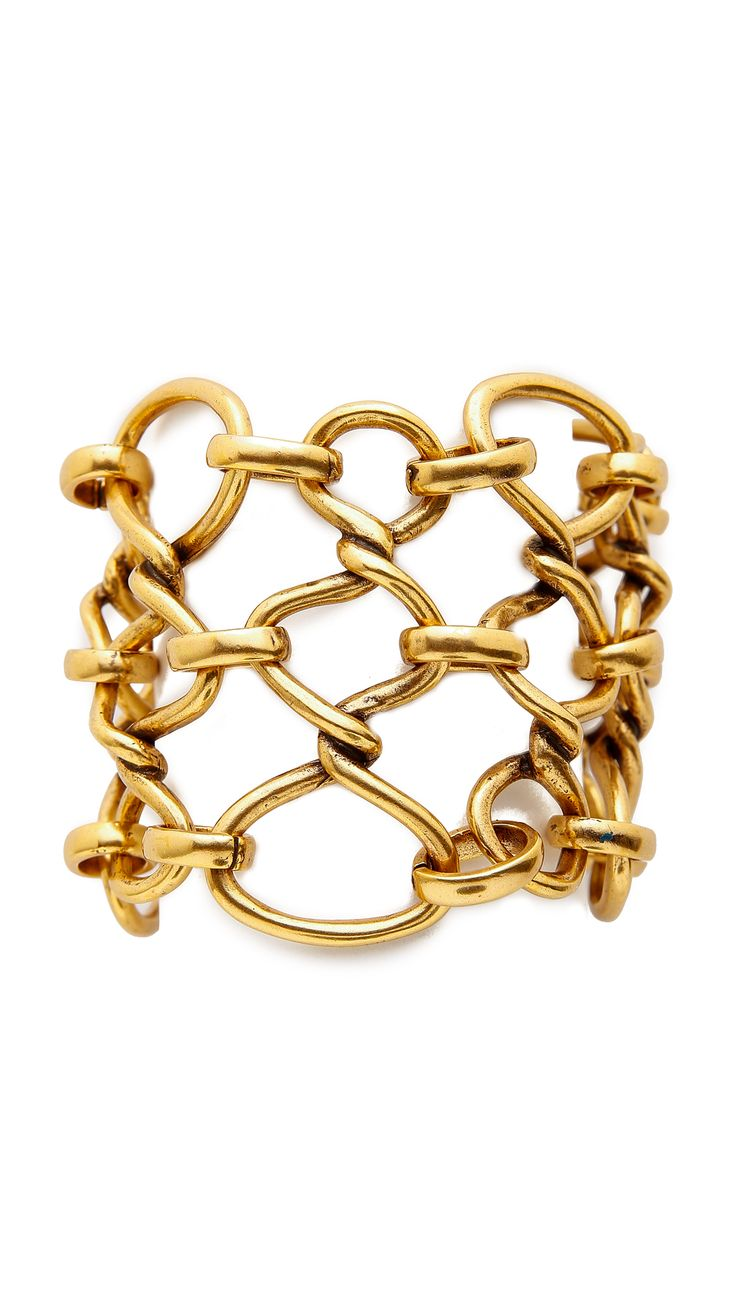 Oscar de la Renta Twisted Rope Bracelet