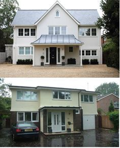 improving curb appeal on 1960's chalet style house uk - Google Search