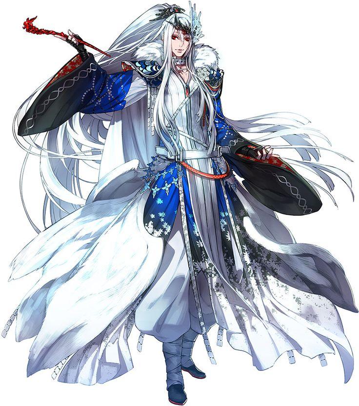 Character   Thunderbolt Fantasy - Lǐn Xuě Yā / Lüè Fēng Qiè Chén / Guǐ Niǎo (Lin Setsu A / Ryō Fu Setsujin / Kichō),