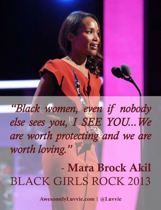 BLACK GIRLS ROCK 2013 Was amazing and Mara Brock Akil gave us a WORD!