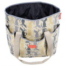 Maxi Dog Travel Bag in Rufus Fabric made by Poppy and Rufus Ltd in #Cheshire - £85.00