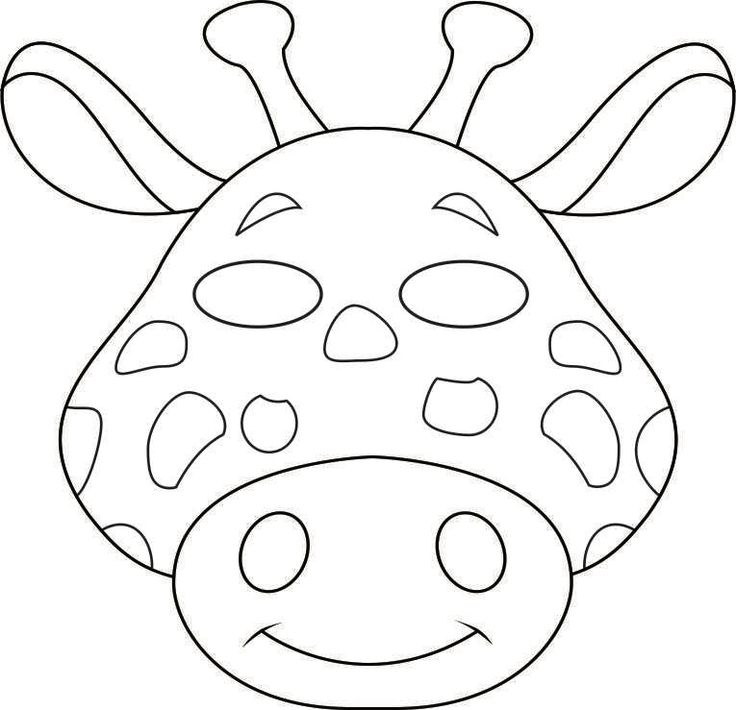 Image from http://www.freekidscrafts.com/wp-content/uploads/vbs-jungle-animal-mask-giraffe-bw.jpg.