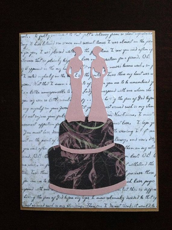 from Desmond wedding cards gay women