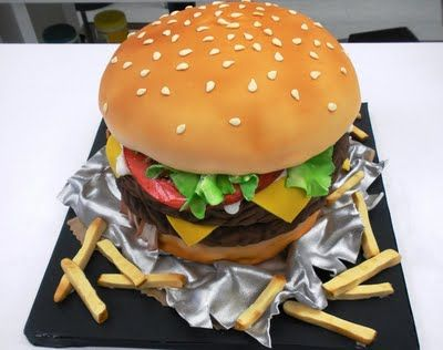favourite food wedding cake... MIKE would love this
