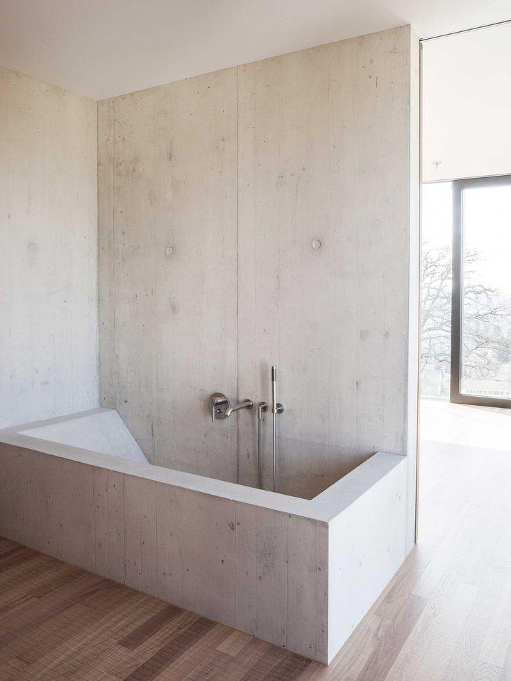 25 best concrete bathroom trending ideas on pinterest concrete shower copper bathroom and. Black Bedroom Furniture Sets. Home Design Ideas