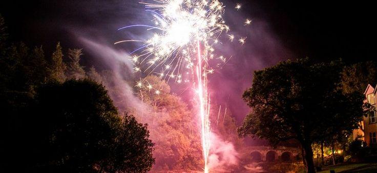 Sheen Falls Fireworks