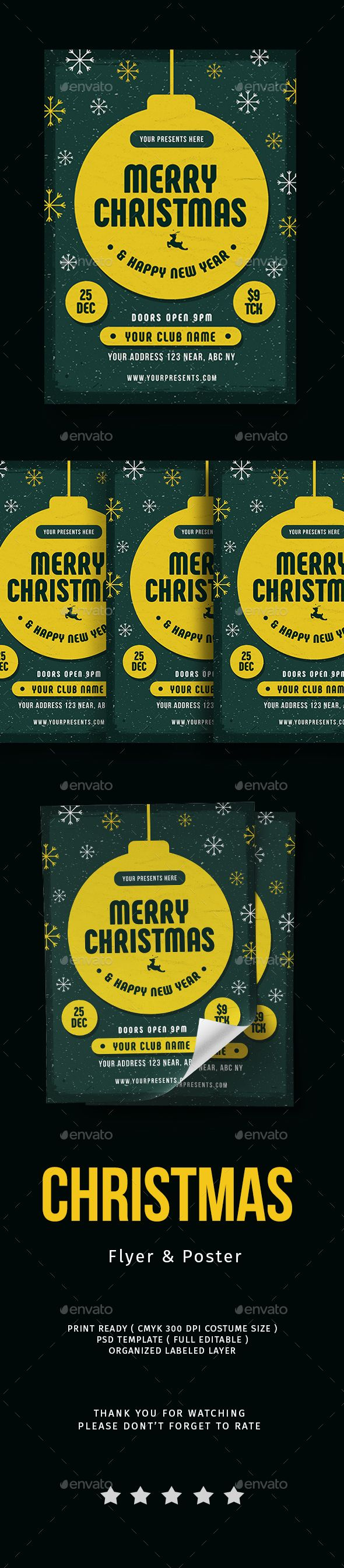 #Christmas #Flyer Vol.4 - Events Flyers