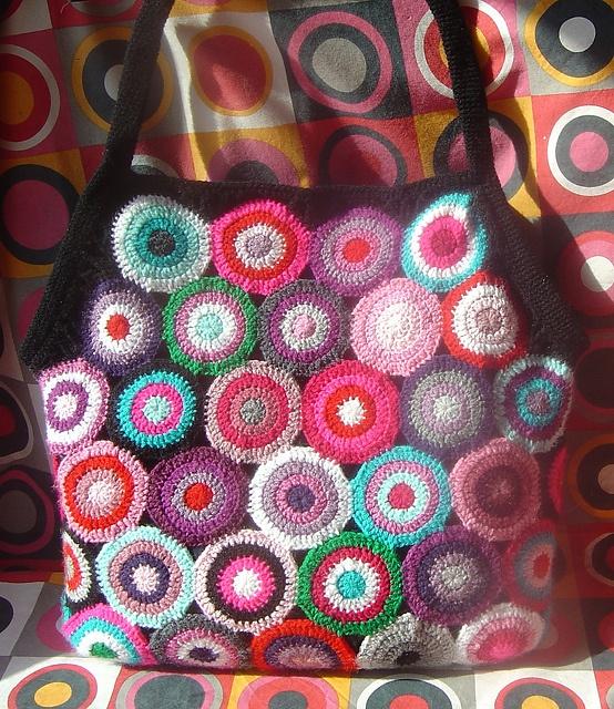 multicolor circle bag
