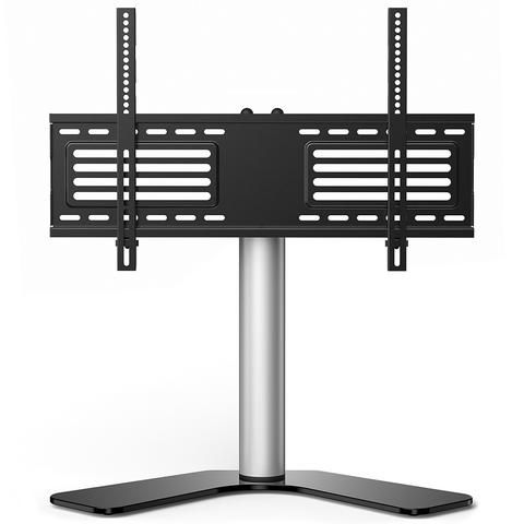Fitueyes height adjustable Universal TV Stand Base Swivel Tabletop TV Stand with mount for 32-65 inch Flat screen Tvs xbox One tv Component Vizio Tv TT106001GB