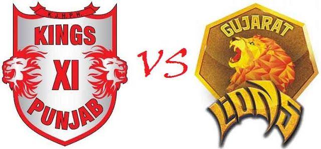 Watch IPL Live Score - Kings XI Punjab (KXIP) vs Gujarat Lions(GL) IPL 2016 Live Streaming